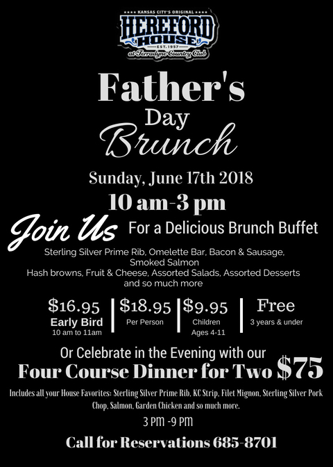 Copy of Fathers Day Brunch HH